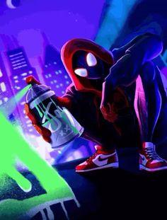 Miles Spiderman, Miles Morales Spiderman, Black Spiderman, Spiderman Art, Amazing Spiderman, Game Wallpaper Iphone, Hipster Wallpaper, Spider Man Series, Spiderman Pictures
