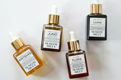 TPiS Beauty: Which Sunday Riley Oil is Right for Me? Artemis? Juno? Flora? Luna?