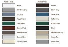 Best Alcoa Aluminum Gutter Color Chart Gutters Gutter 400 x 300