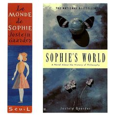 Sophie's World - book and bookmark