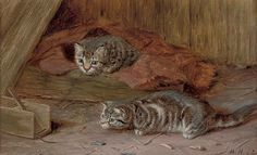 Henriette Ronner-Knip, A Fascinating Tail