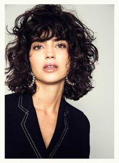 Schönsten Curly Frisuren mit kurzem Stil // #Curly #Frisuren #kurzem #Schönsten #Stil