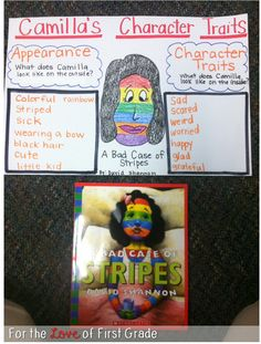 For the Love of First Grade: Character Traits (ela anchor charts character trait) Library Lessons, Reading Lessons, Reading Skills, Teaching Reading, Reading Strategies, Guided Reading, Reading Comprehension, Teaching Ideas, Reading Tips