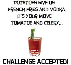 French Fries, Celery, Vodka, Planter Pots, Potatoes, Herbs, Tableware, Food, Curly Fries