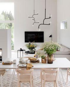 Home Living Room, Living Spaces, Modern Interior, Interior Design, Scandinavian Style Home, Living Room Inspiration, Minimalist Home, Sweet Home, Interior Decorating