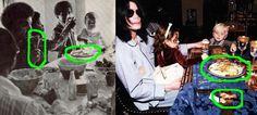 マイケル・ジャクソン チキン 鶏肉 子供の頃と晩年 Familia Jackson, Paris Jackson, Still Love You, Michael Jackson
