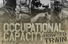 Occupational Capacity and How to Train