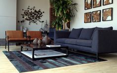 CONTEMPORARY LIVING ROOM Human Sofa Terra Living Chair Pristine Coffee Table Testino Rug #ZientteDarkGlamourCollection #ZientteIndieCollection Zientte Houston