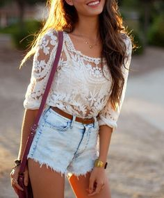 If only I could pull off high waisted shorts.
