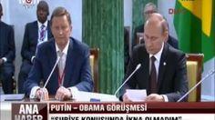 Obama G20 Zirvesinde Suriye konusunda Putin'i ikna edemedi | yurttan ve dünyadan haberler ve teknoloji videoları blogu denk gelirse