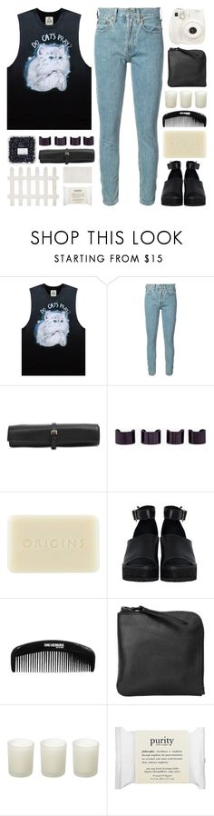 """""""i'm gonna light up this place"""" by megan-vanwinkle ❤ liked on Polyvore featuring UNIF, RE/DONE, Rochas, Maison Margiela, Origins, The WhitePepper, shu uemura, Xenab Lone, Casa Couture and Fuji"""