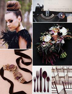 Inspiration Board #50: Glamorous Dark Purple