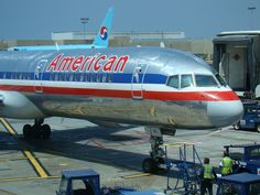 American Airlines 757 LAX
