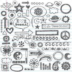formas decorativas para cuadernos - Buscar con Google
