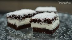 Mliečny rez (videorecept) - recept | Varecha.sk Tiramisu, Cheesecake, Food And Drink, Punk, Ethnic Recipes, Desserts, Basket, Fotografia, Tailgate Desserts