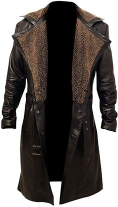 Looking for Chicago Super Fashion Men's German Belted Brown Real Leather Trench Long Winter Coat ? Check out our picks for the Chicago Super Fashion Men's German Belted Brown Real Leather Trench Long Winter Coat from the popular stores - all in one. Men's Coats And Jackets, Cool Jackets, Biker Jackets, Trench Coats For Men, Leather Jackets For Men, Men Coat, Long Winter Coats, Mens Winter Coat, Leather Trench Coat