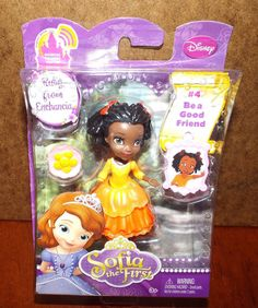 Disney Sofia the First Ruby From Enchancia Mini Figure NEW! #Disney