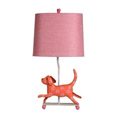 So cute!!  StyleCraft Home Collection L11086DS Mini Iron Dog Lamp