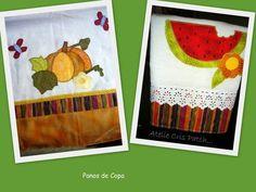 Pano prato com aplicação em tecidos 100% algodão R$ 25,75