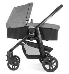 #bebes Graco – EVO cochecito de bebé 2 en 1 incluye capazo, gris pizarra
