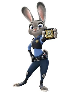 judy hopps. officer hopps reporti.g for duty nicholas wilde youre under aresst