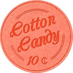 At The Fair - Cotton Candy Label