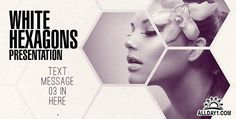 Clean White Hexagon Presentation - Project for After Effects (Videohive)