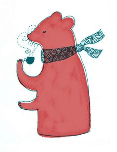 Tea Bear, by Claire Mojher. Via Flickr.
