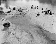 Mitch Epstein The Hernshead, Central Park, 2014. Courtesy of Yancey Richardson Gallery