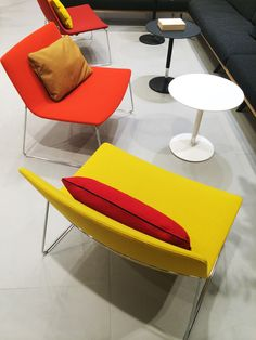 Lounge with Arper's Catifa 80