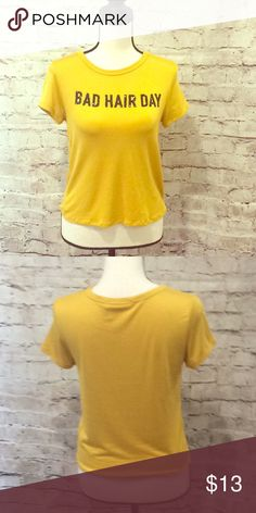 8c9999d4ddb6 U love closet bad hair day tee shirt Great condition new without tags u  love closet Tops Tees - Short Sleeve