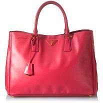 Prada Saffiano Lux Tote - OMG, luv this colour!