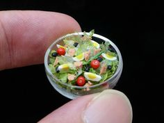 #miniature salad