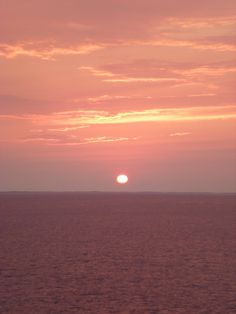 I love sunsets....