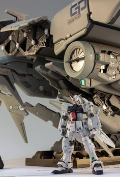 GUNDAM GUY: HGUC 1/144 RX-78GP03 GundamGP03 Dentrobium - Painted Build