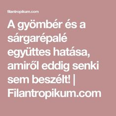 A gyömbér és a sárgarépalé együttes hatása, amiről eddig senki sem beszélt! | Filantropikum.com Kuroko, Smoothies, Health Care, Health Fitness, Herbs, Tips, Therapy, Creative, Smoothie