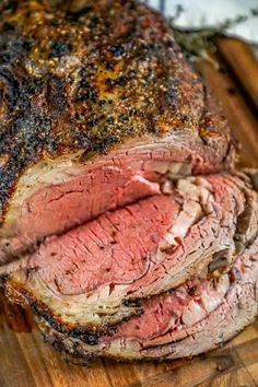 Beef Ribeye Roast, Bbq Roast, Prime Rib Roast, Rib Eye Roast, Beef Tenderloin, Brisket, Pork Chops, Rib Recipes, Gourmet