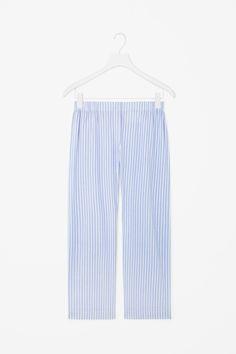 COS | Striped pyjama trousers