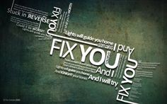 Coldplay - Fix you #Lyrics