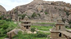 Chitradurga Fort or as the British called it Chitaldoorg, is a fortification that straddles several hills and a peak overlooking a flat valley in the Chitradurga District, Karnataka, India