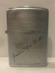 Vintage Zippo Lighter Pat 2032695 W Matching Insert 3 Barrel 1937 1950 Fires Zippo Zippo Lighter Vintage