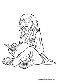 Harry Potter 005 coloring page  harry potter patterns  Pinterest