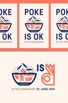 The Longboard pt. XV by Jay Fletcher on Dribbble Dm Poster, Posters, Logo Inspiration, Japanese Graphic Design, Restaurant Branding, Badge Design, Lettering, Corporate Design, Identity Design