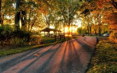 Erie, PA in Autumn.