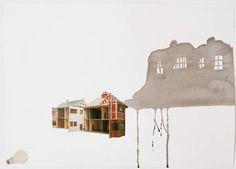 Rachel Whiteread, Study for Village, 2004