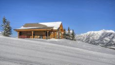 Big Sky Cabin Rental: Cozy Ski In/out Slopeside Mountain Cabin! Free Airport Transfer!   HomeAway