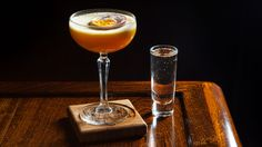 Passionfruit, vodka and a side of Champagne: can't argue with the Pornstar Martini cocktail