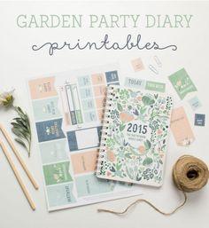 Des goodies pour agenda / printable goodies for diary