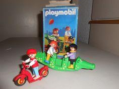 playmobil niños en el parque 90s