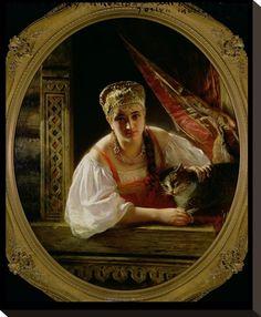 Russian Beauty, 1865 Giclee Print